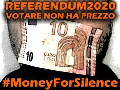 #MoneyForSilence